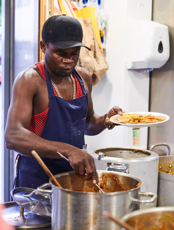 Donovan Cooking