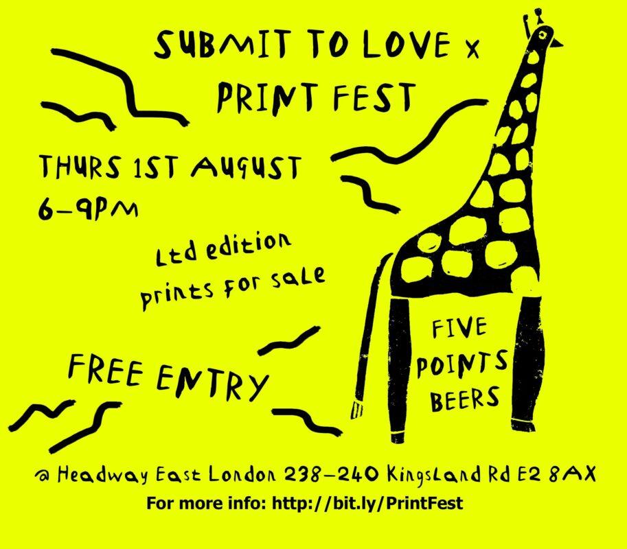 Social Card1 Print Fest Giraffe