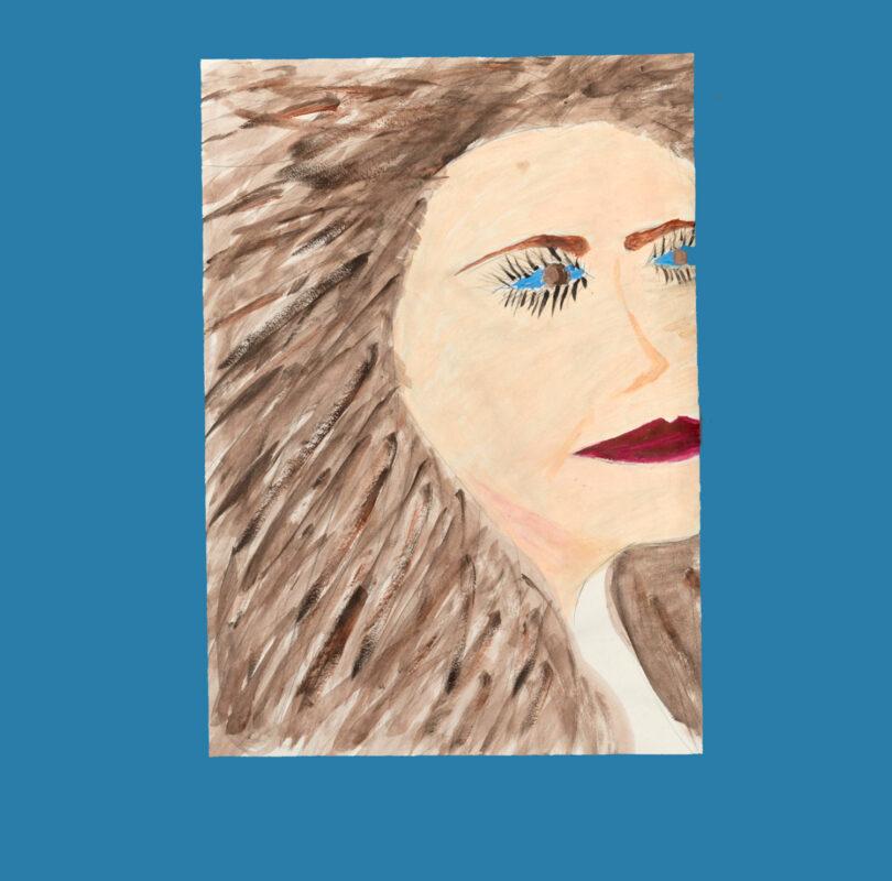 Illustration of Sarah Lantsbury by Headway artist