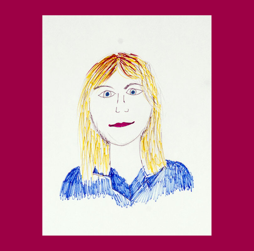 Illustration of Sarah Griggs by Headway artist