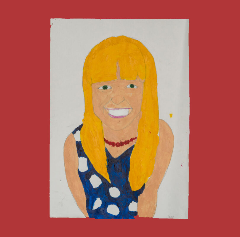 Illustration of Natasha Lockyer by Headway artist